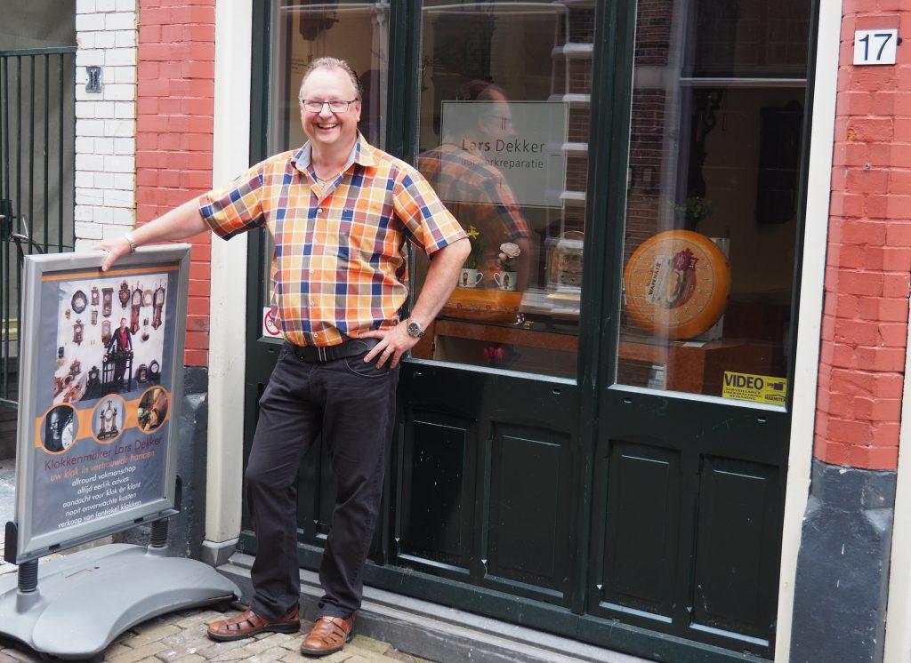 Alkmaarse klokkenmaker - Lars Dekker uurwerkreparatie