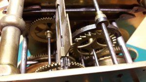 Amsterdams staand horloge restauratie 5