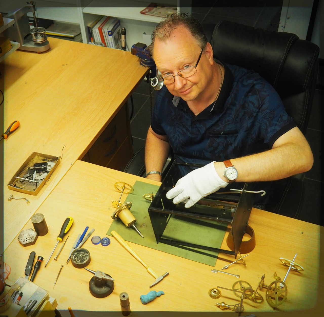 Comtoise reparatie - clock repair Netherlands